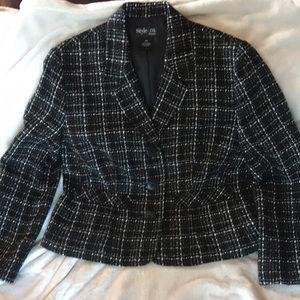 Jackets & Blazers - Style&co petite tweed blazer size 10p